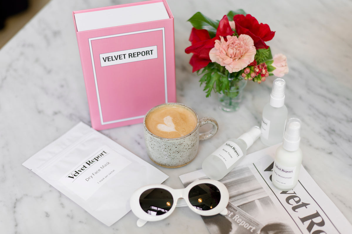 Velvet Report Luxury Vegan Beauty Products