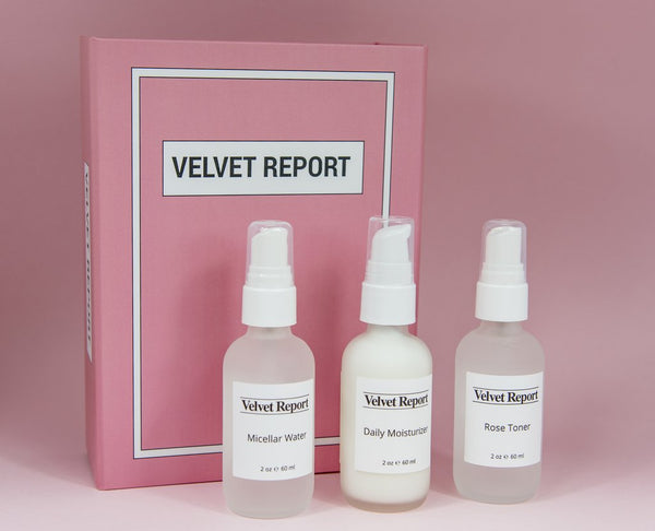 Velvet Report French Beauty Set