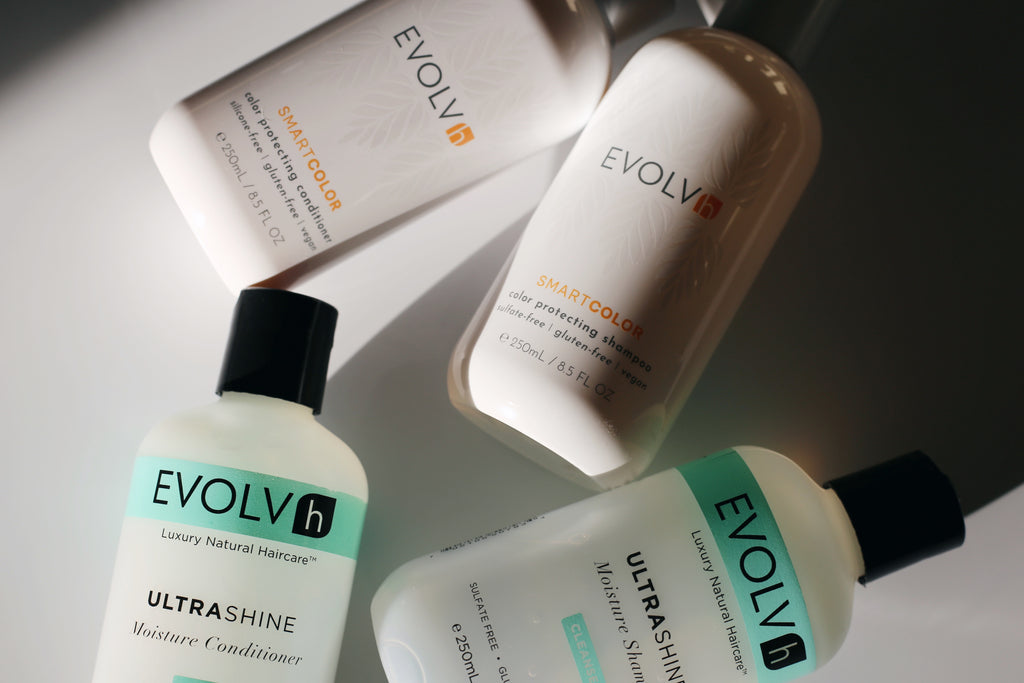 EVOLVh vegan shampoo and conditioner