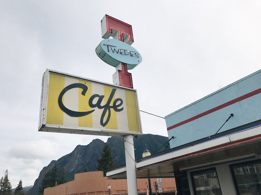 Twede's Cafe, the real-life location of the Double R Diner from Twin Peaks