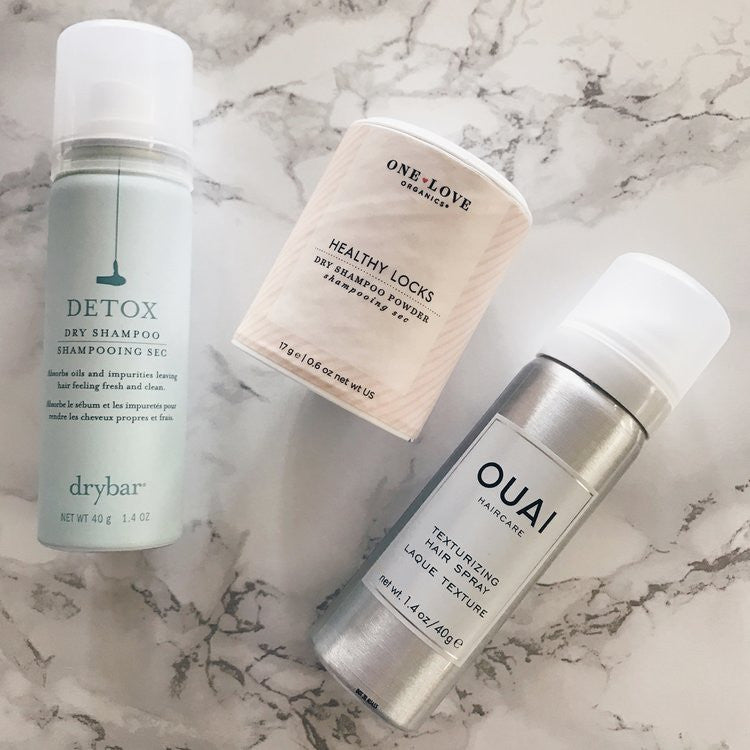 Vegan and cruelty-free dry shampoos from Drybar, One Love Organics, and Ouai
