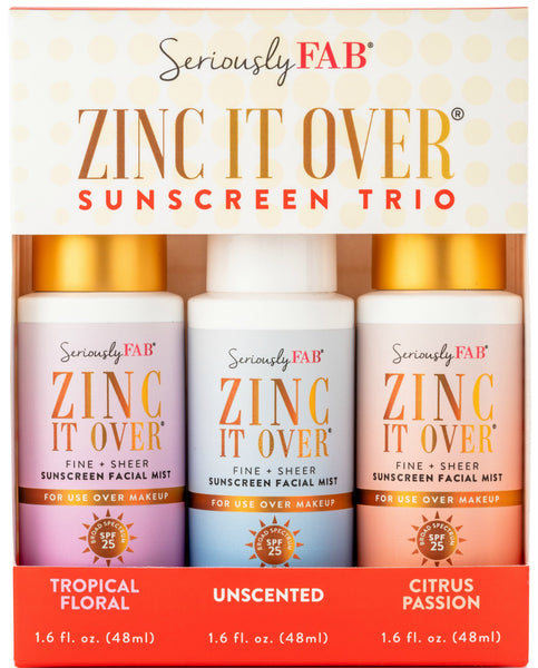 Seriously FAB Zinc It Over Sunscreen Mist