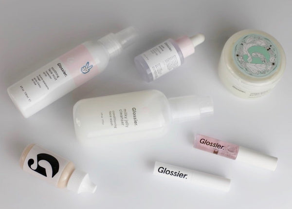Glossier vegan products list Velvet Report