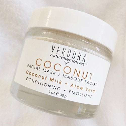 VERDURA naturalternatives coconut face mask