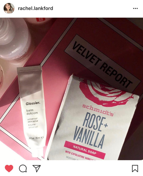Rose Vegan Beauty Set