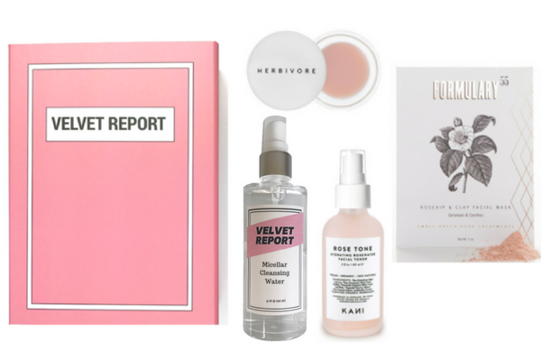 Rose Vegan Beauty Set + Micellar Water