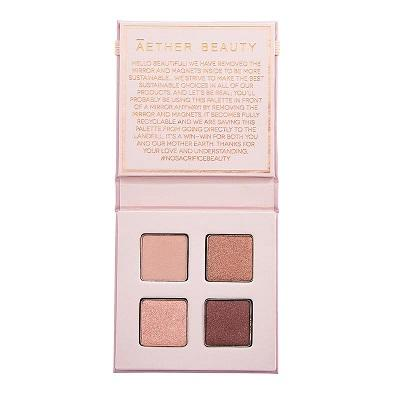 Aether Beauty Ametrine Mini Crystal Eyeshadow Palette