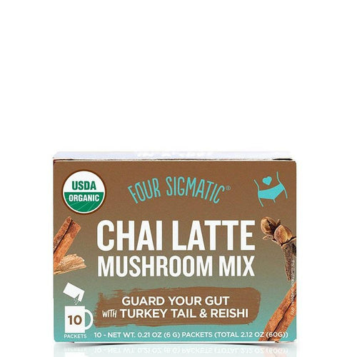 CHAI LATTE WITH TURKEY TAIL & REISHI