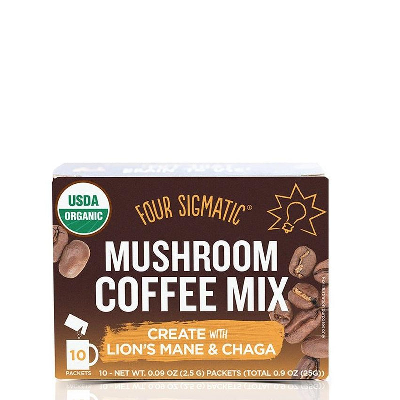 Four Sigmatic Mushroom Coffee with Lion's Mane - Art of Pure