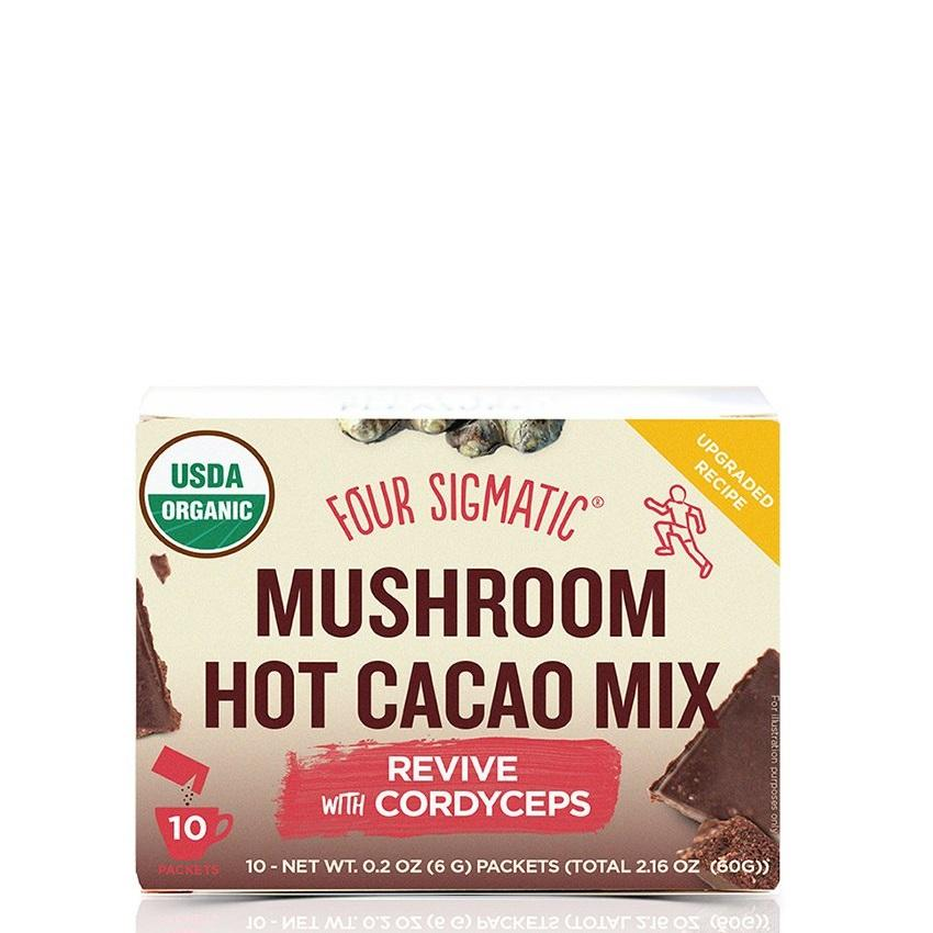 Four Sigmatic Mushroom Hot Cacao with Cordyceps - Art of Pure