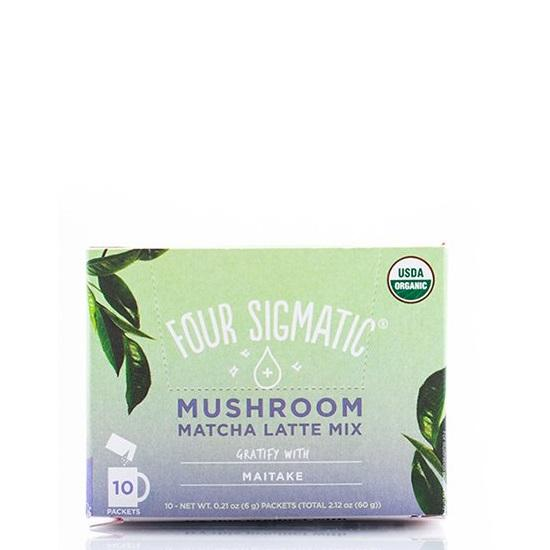 Four Sigmatic Mushroom Matcha Latte with Maitake - Art of Pure
