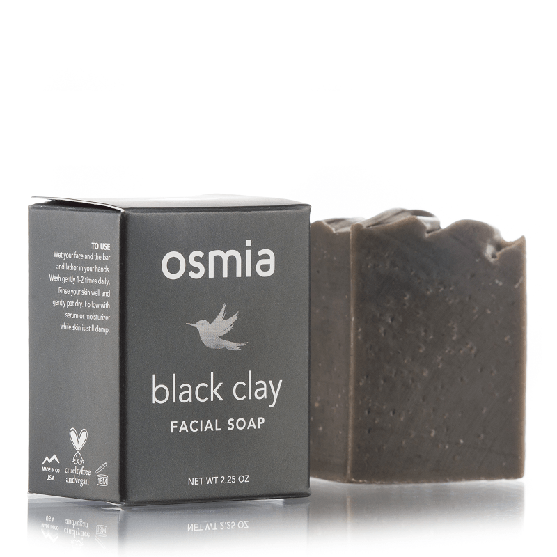 Osmia Organics Black Clay Facial Soap | Art of Pure