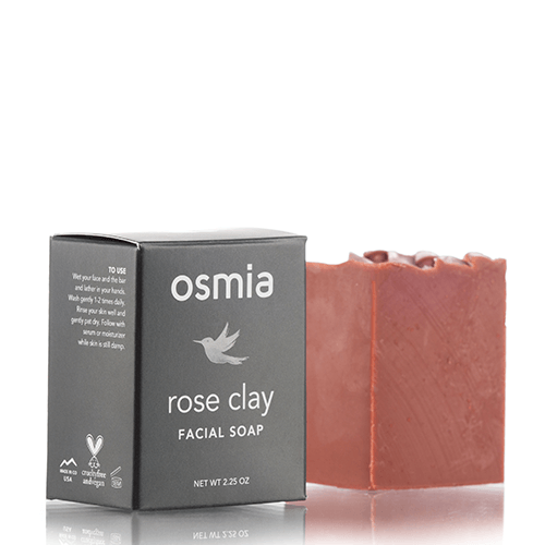 Rose Clay Facial Soap