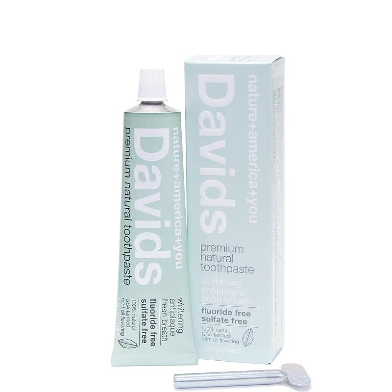 Davids Premium Natural Toothpaste - Art of Pure