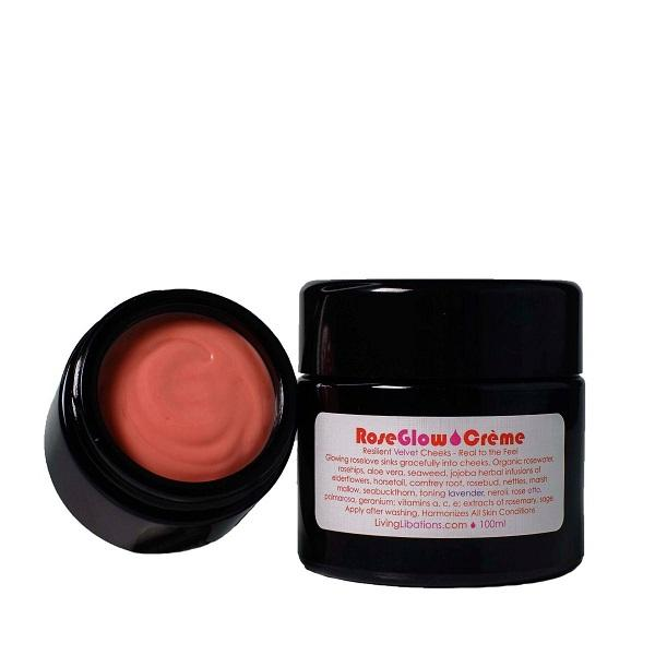 Living Libations RoseGlow Creme - Art of Pure