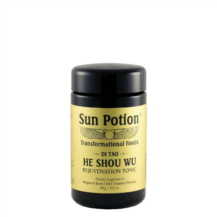 Sun Potion He Shou Wu All Natural Vegan Wellness Superfoods Art