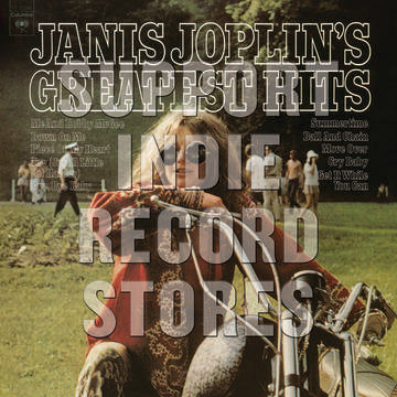 Janis Joplin releases Greatest Hits on Vinyl for Record Store Day Black Friday