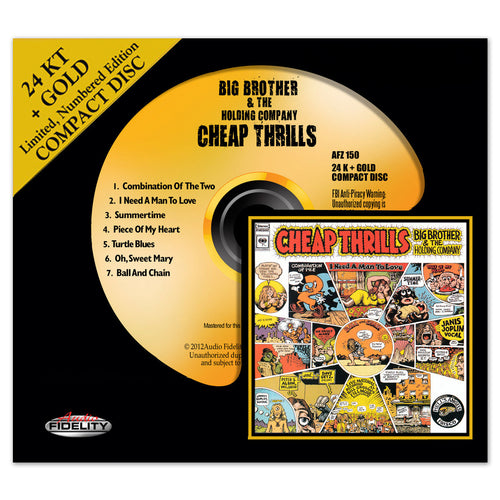 Big Brother & The Holding Company – Cheap Thrills Gold [CD]