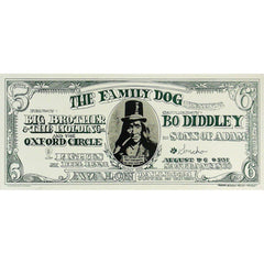 Dollar Bill Lithograph