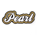Pearl - Gold/Black Patch