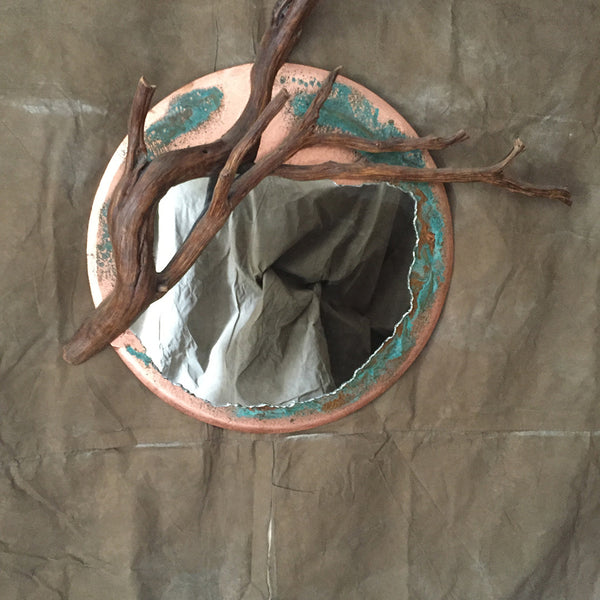 Juniper Branch Mirror