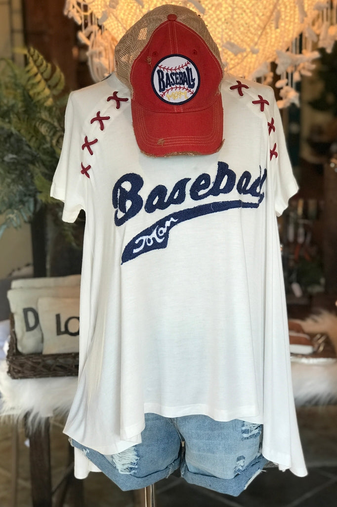 Baseball Mom Tunic Tee