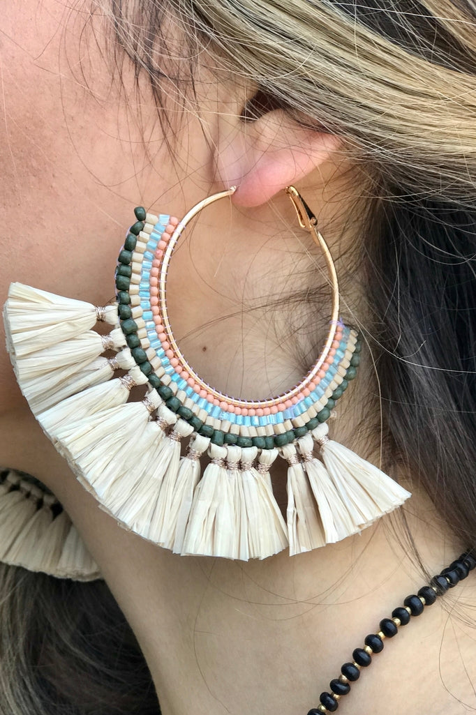Blue Magnolia Clothing Company Siesta Hoop Earrings