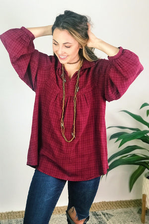 Marjorie Top - More Colors Available