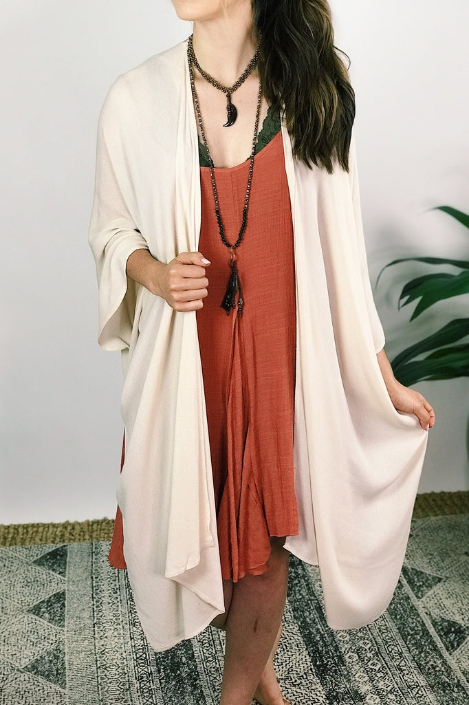 Natural Kimono - More Colors Available
