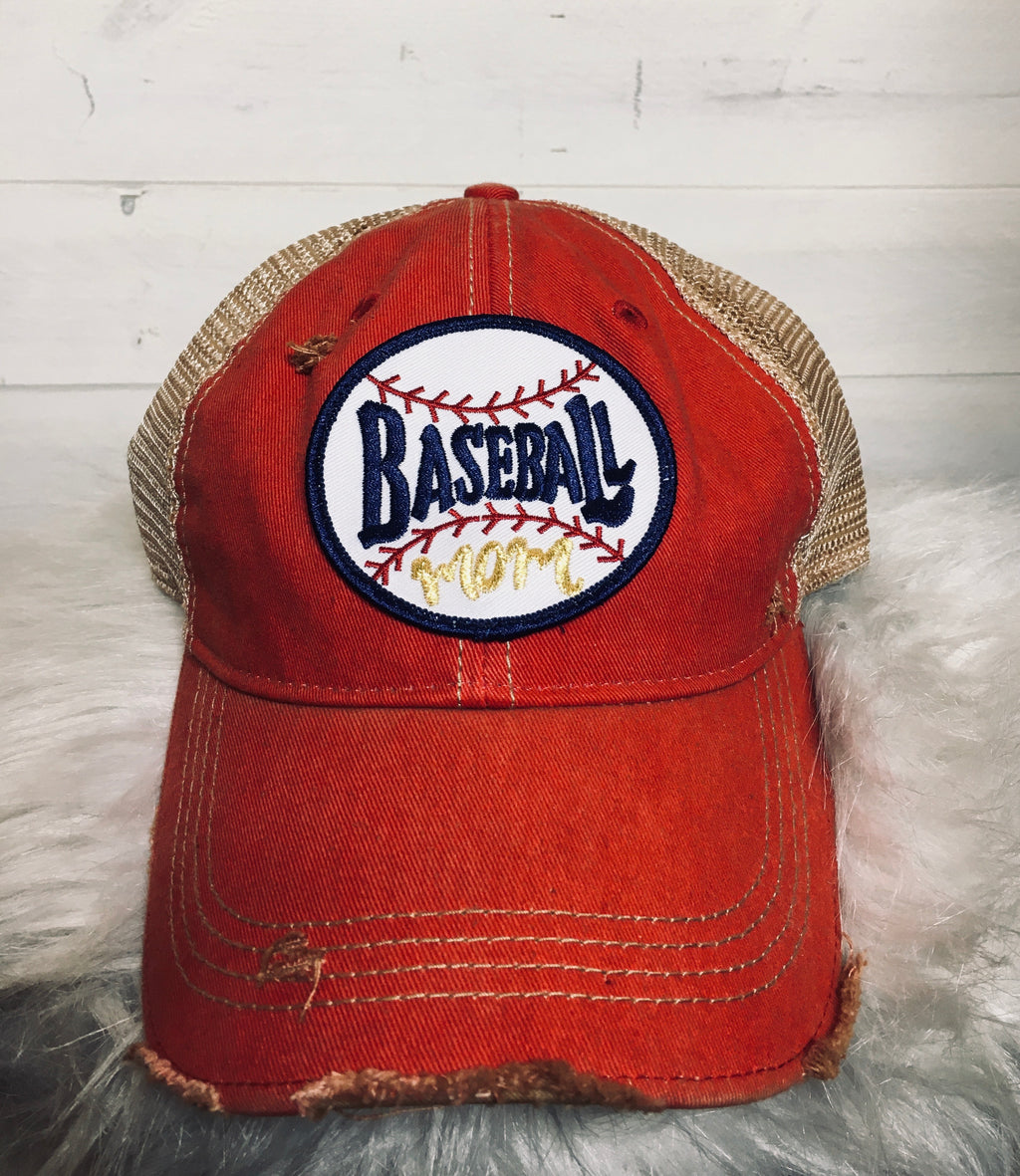 Baseball Mom Ballcap