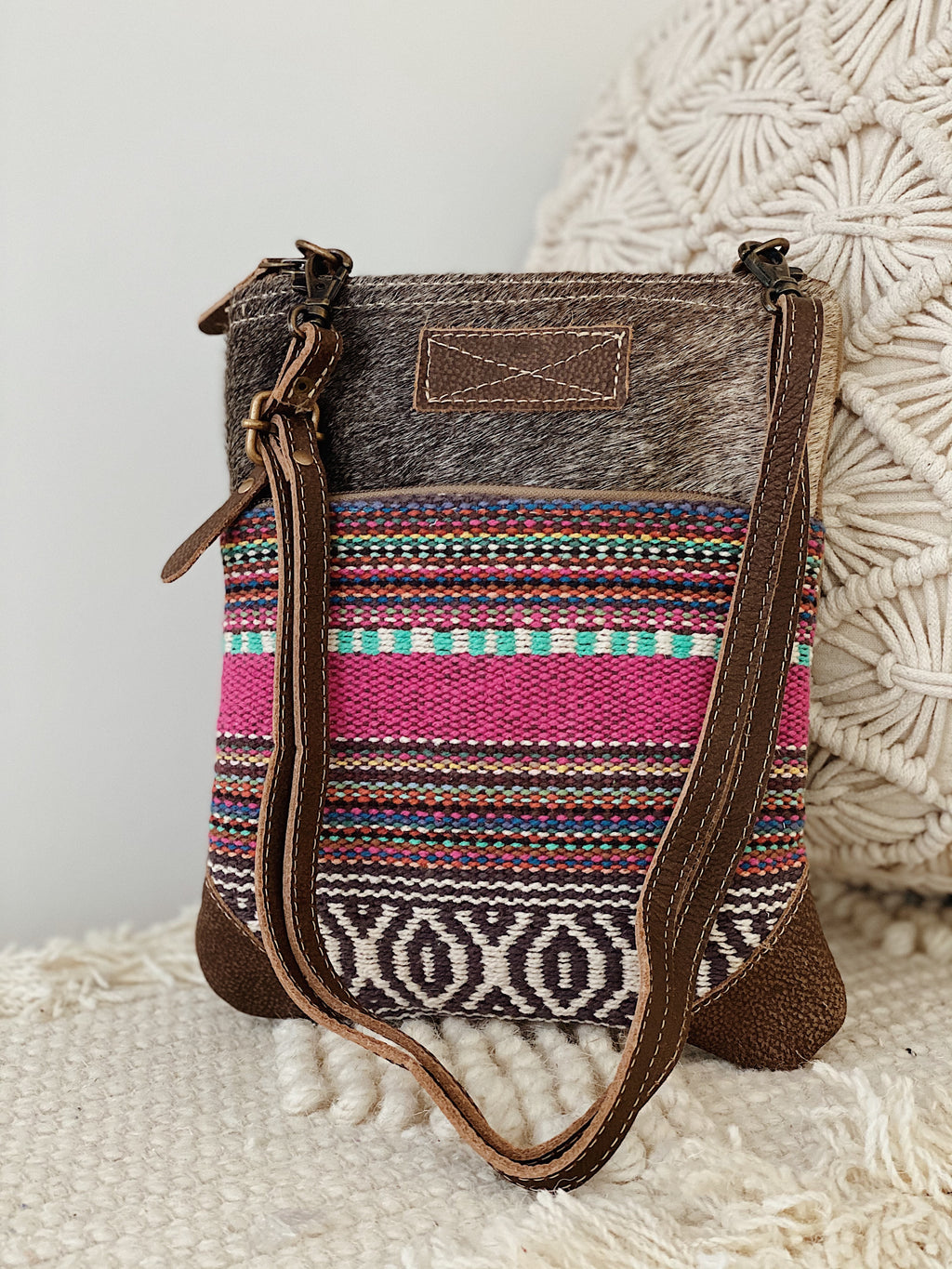 Simple Sober Crossbody Bag