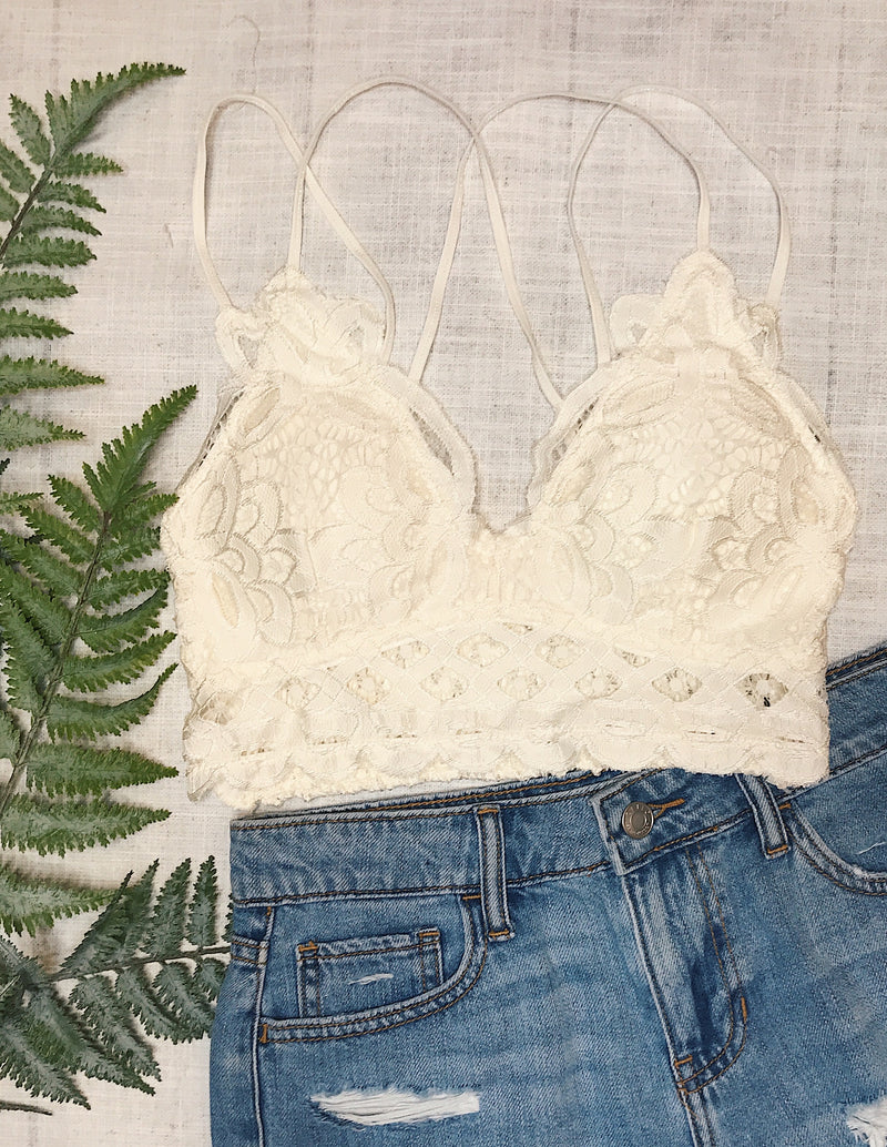 Sweet Talker Bralette - More Colors Available