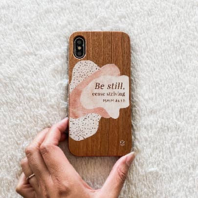 Be Still Phone Case