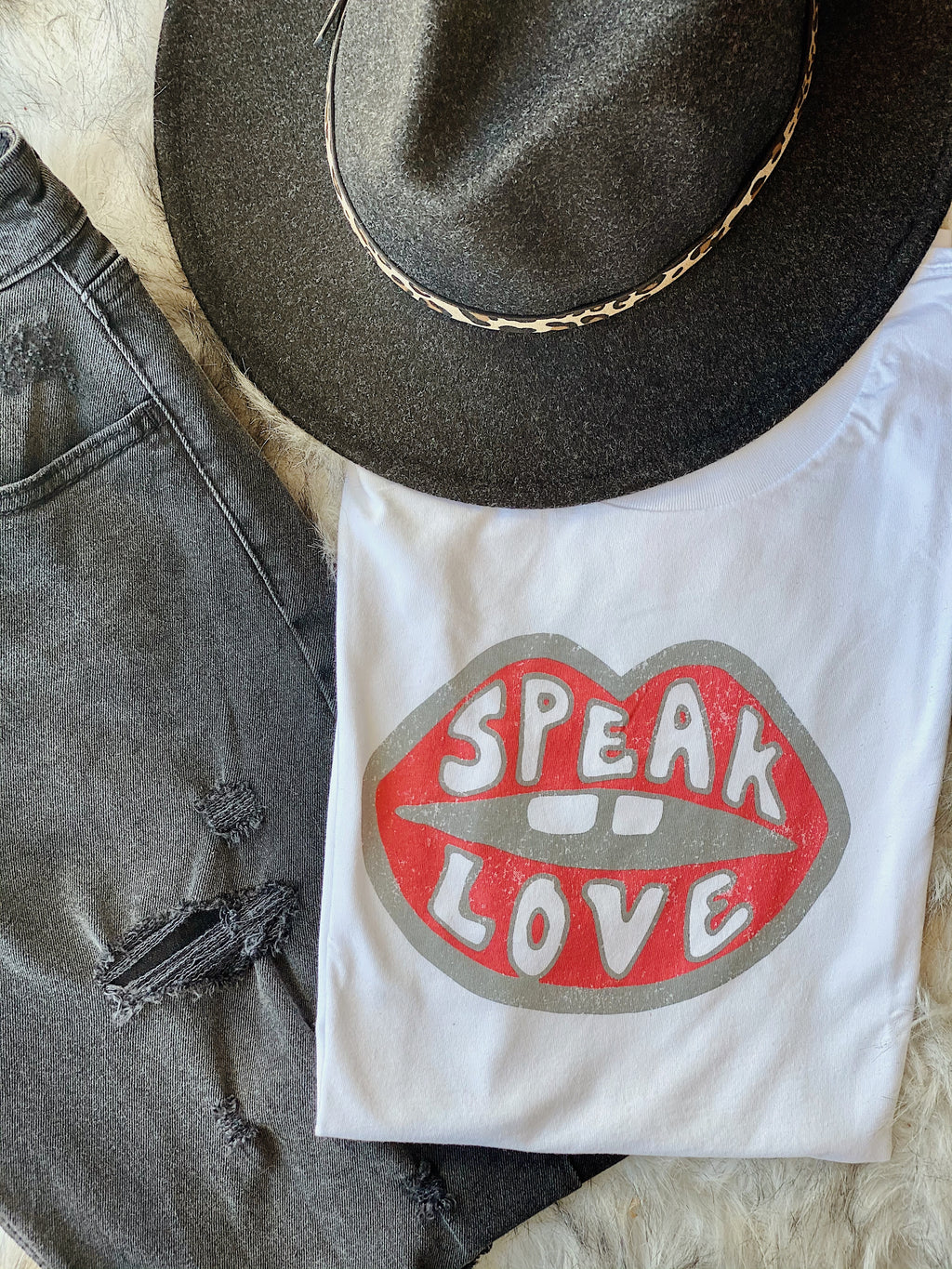 Speak Love Tee