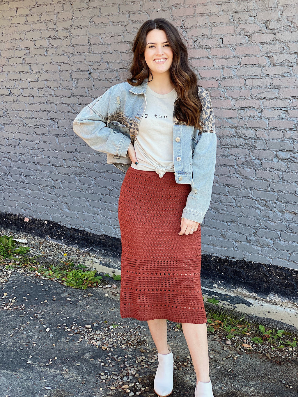 Riverside Midi Skirt