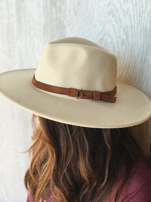Raygan Wide Brim Hat - More Colors Available