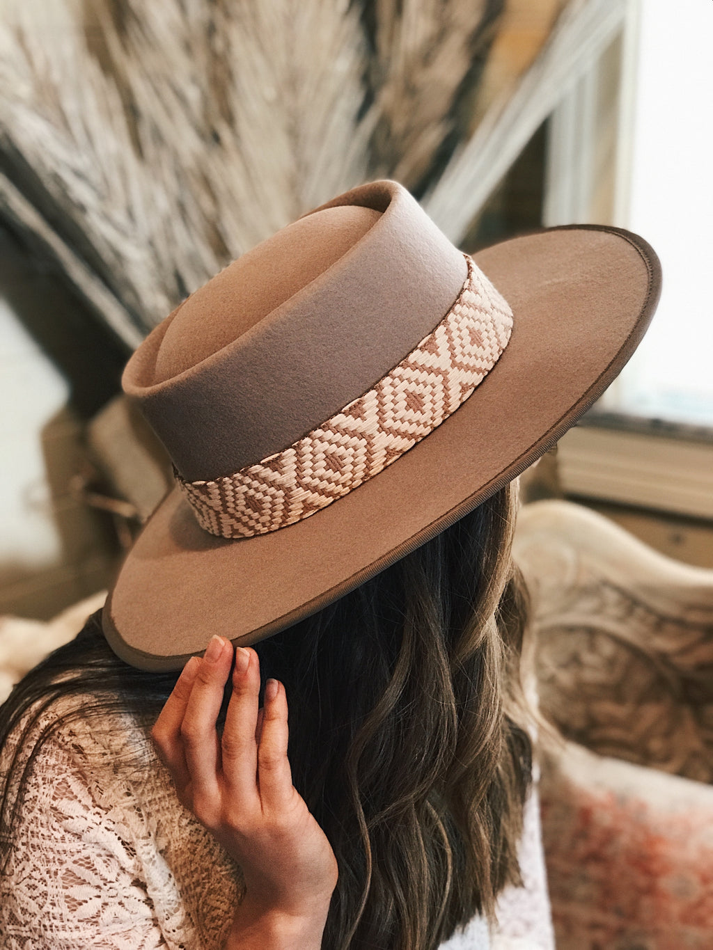 Willa Wide Brim Gambler Hat