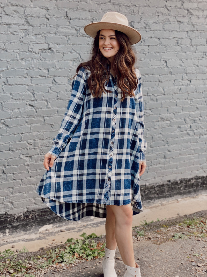 Denim Dancer Tunic Dress