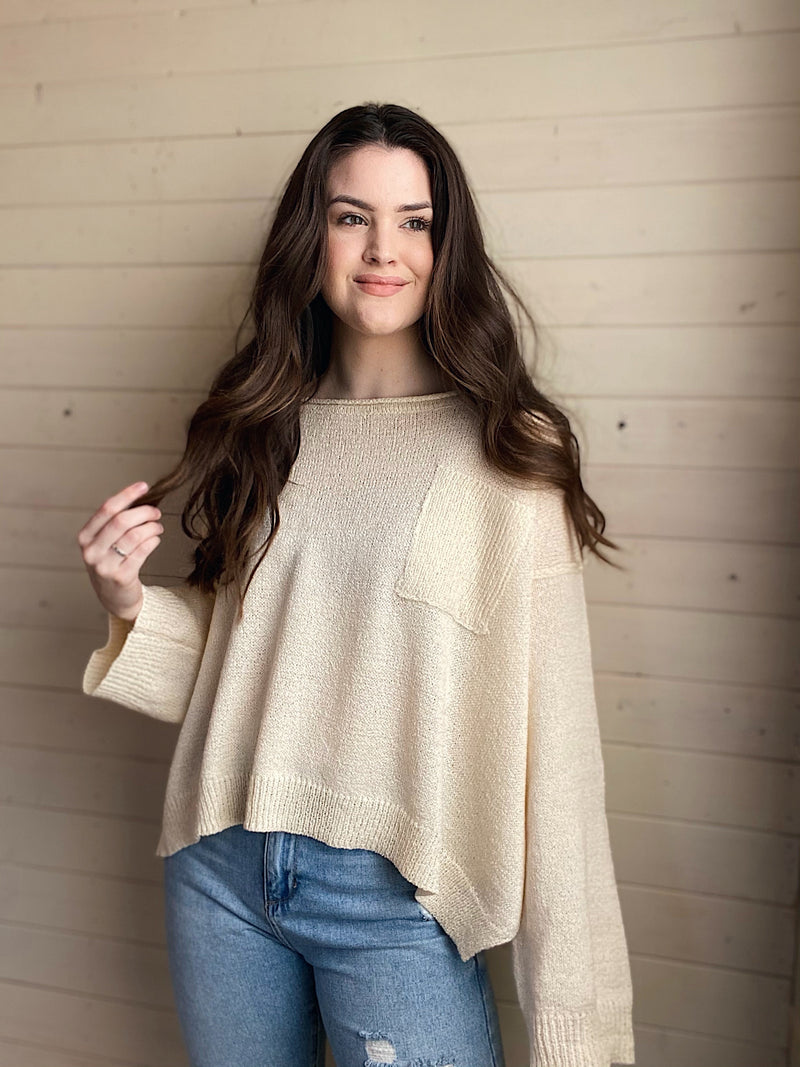 Ready To Go Sweater - More Colors Available