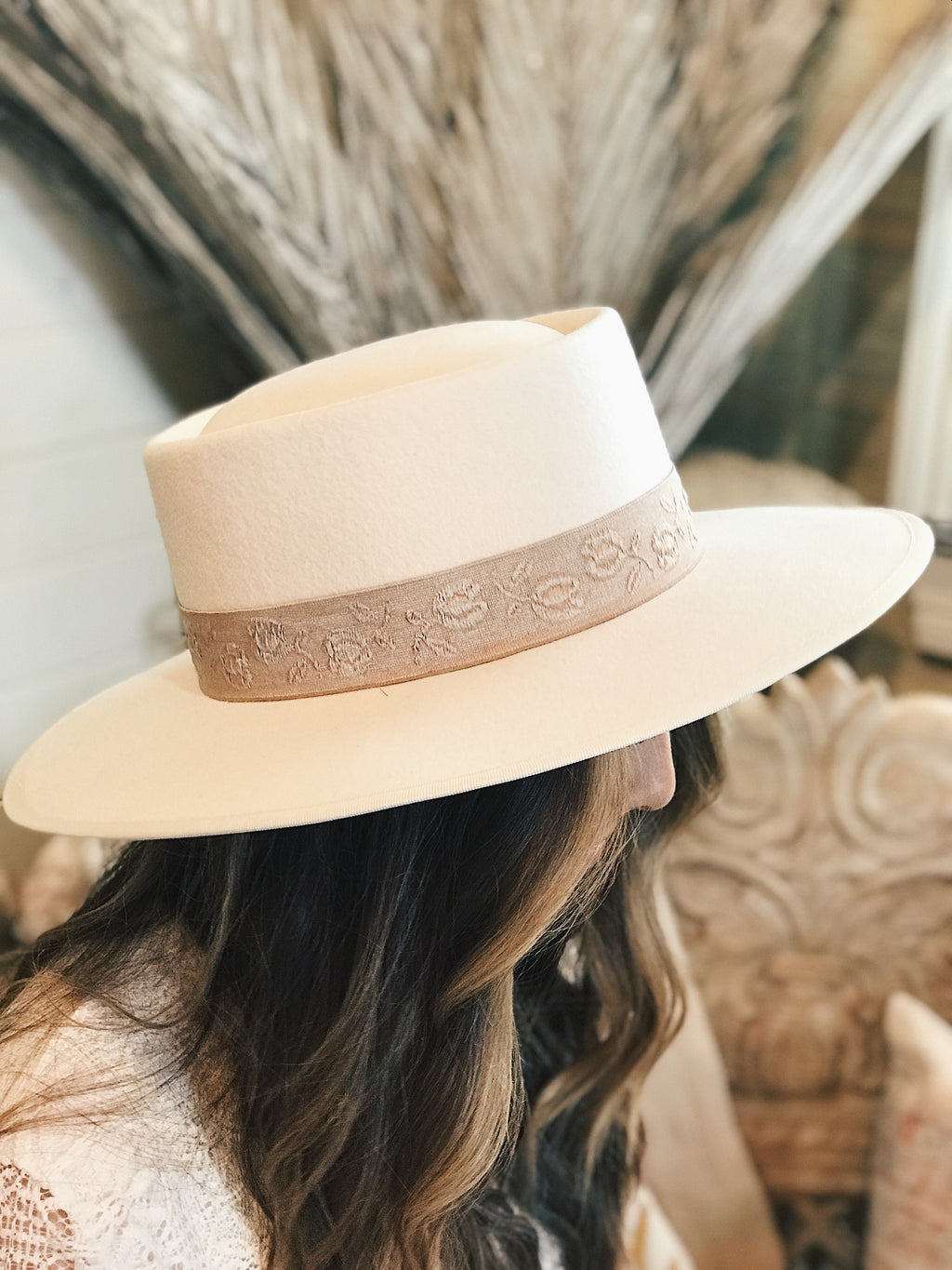Hailee Wide Brim Hat