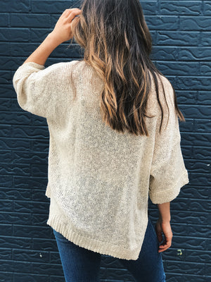 Stuck On You Knit Pullover