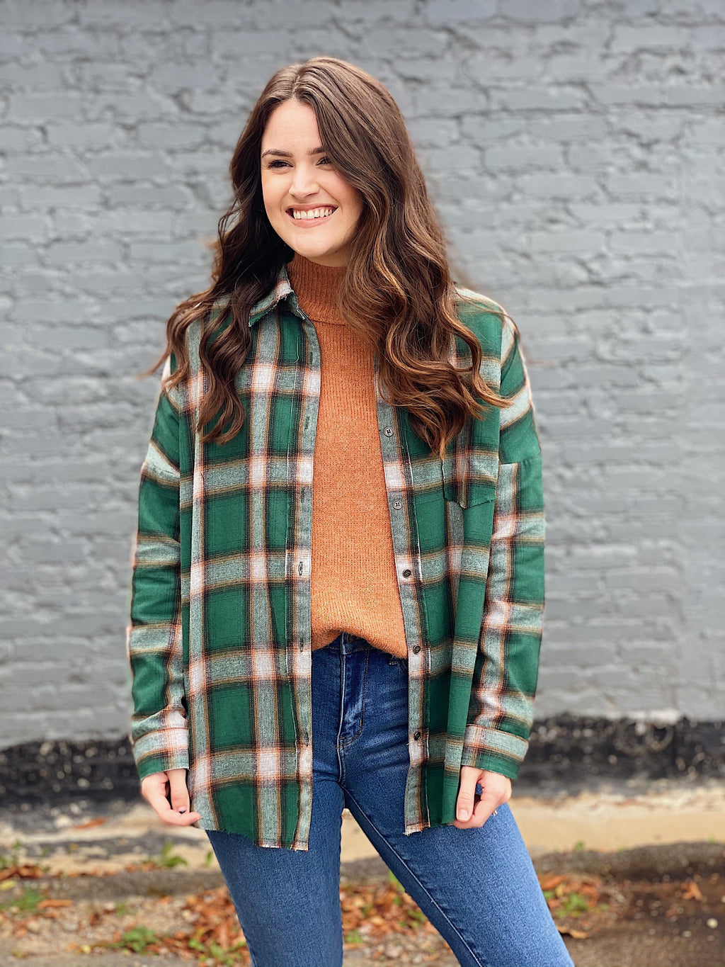Fall In Line Flannel - More Colors Available