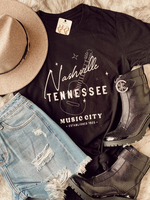 Nashville Music City Tee
