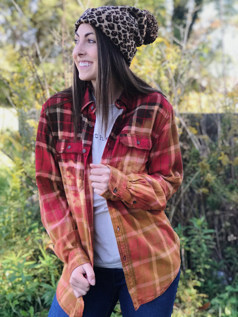 Fall Leaves Flannel