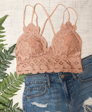 Sweet Talker Bralette PLUS - More Colors Available