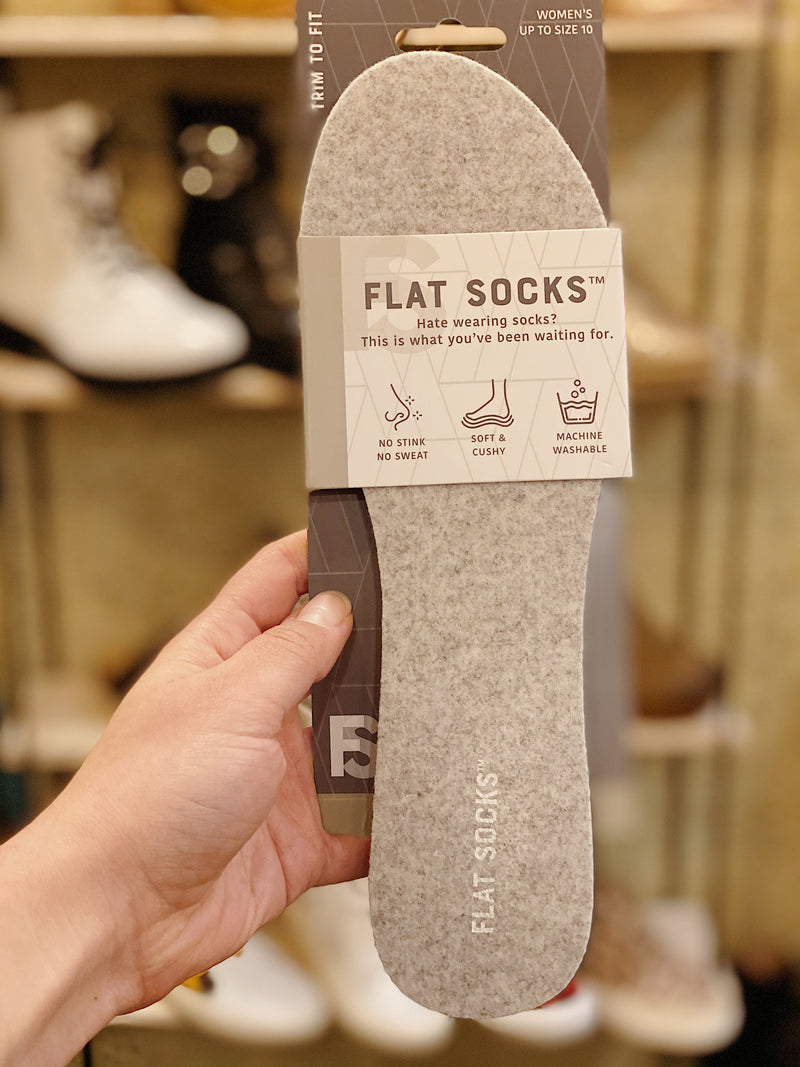 Flat Socks - More Colors Available