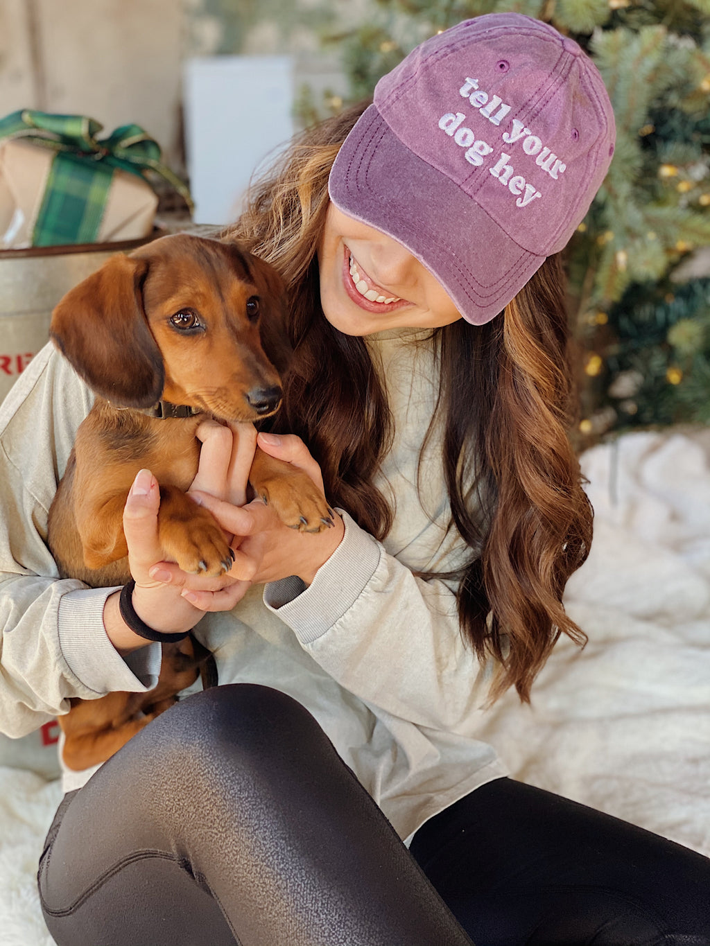 Tell Your Dog Hey Hat