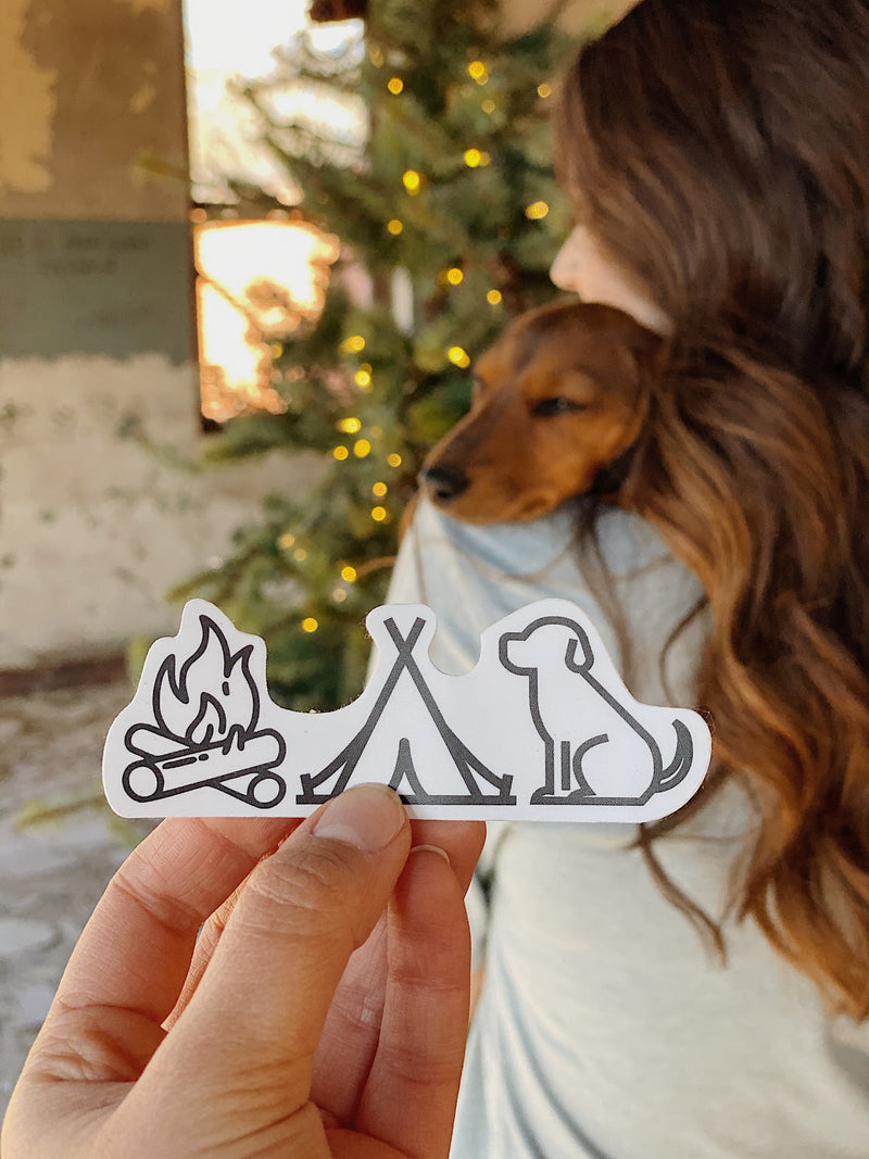 Camp Vibes Sticker