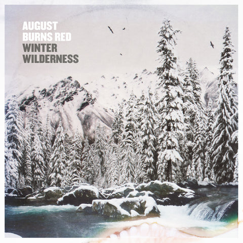 "AUGUST BURNS RED (WINTER WILDERNESS) 10"" SOLID WHITE VINYL"