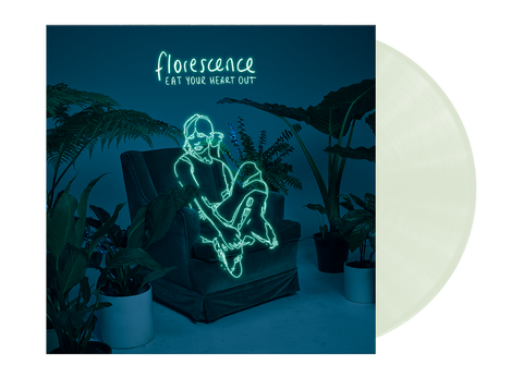 EAT YOUR HEART OUT (FLORESCENCE) LP - COKE BOTTLE CLEAR